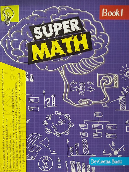 Super Math Book 1