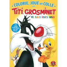 Colorie, Joue et Colle