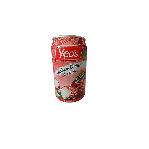 Yeo's Grass Jelly Lychee Drink 300ml