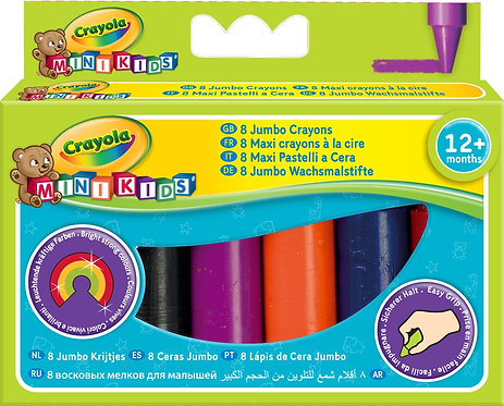 Crayola 8 Jumbo Crayons