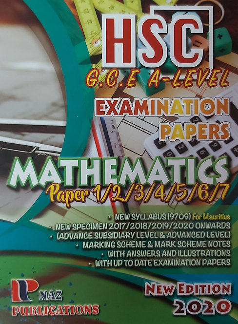 Naz-Mathematics Hsc/Gce A Level 2020