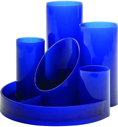 Desk Tidy Helix Black/ Blue