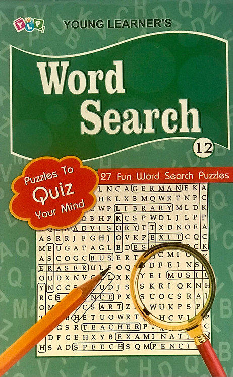 Word Search Puzzles Level 12