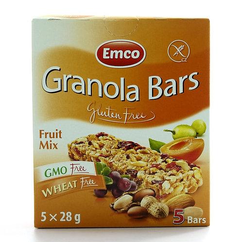 Emco Gluten-Free Bar Fruit Mix X 5