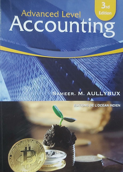 Advanced Level Accounting  3Rd Ed