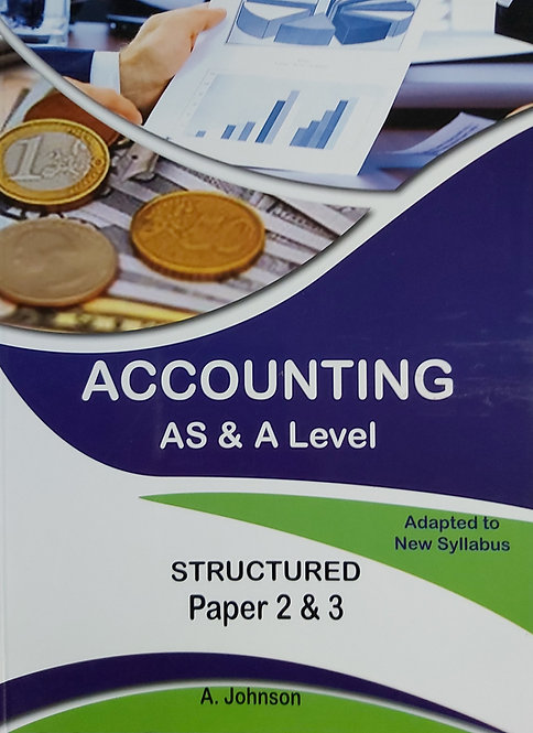 Accounting As & A Level Structured Paper 2&3 (2019)