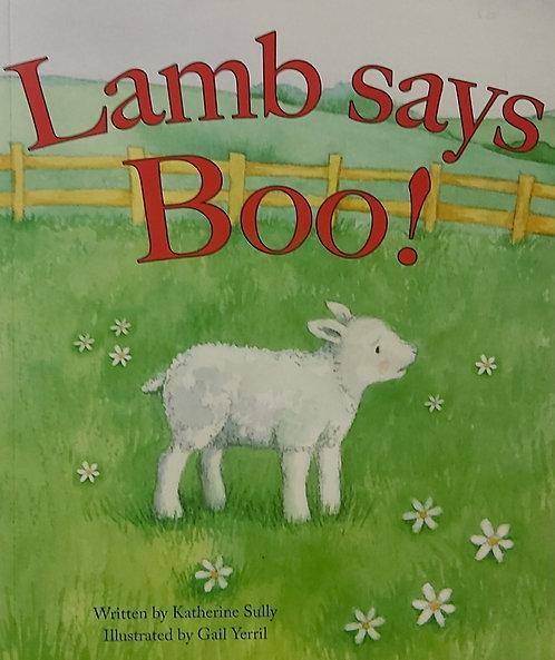 Lamb says Boo !