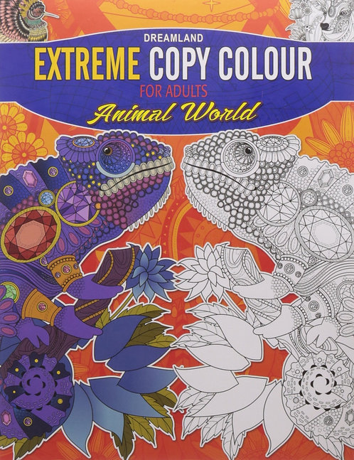 Extreme Copy Colour for adults- Animal world