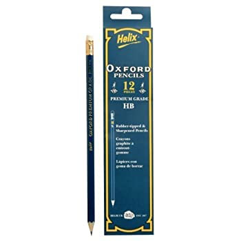 Oxford Pencil Hb (pack of 12)