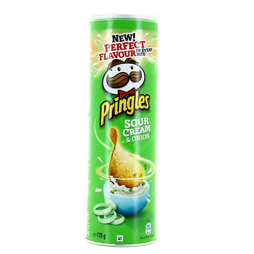 Pringles Sour Cream & Onion (175G)