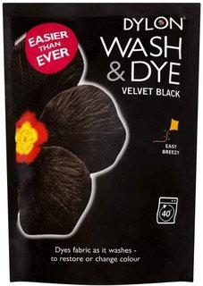 Dylon Wash & Dye 350g VELVET BLACK