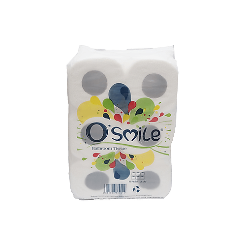 O'Smile Toilet Aqua (X 6 Rolls)