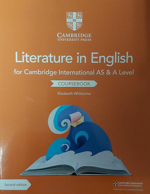Cambridge International As & A Level Literature Coursebook