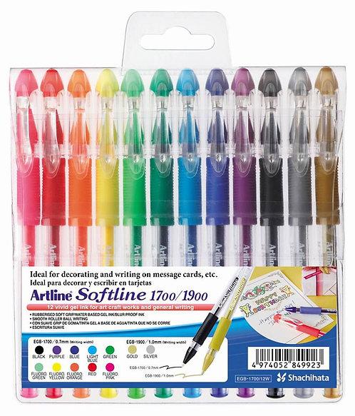 Artline Wallet Gel Pen Egb 1700/12 Set Of 12