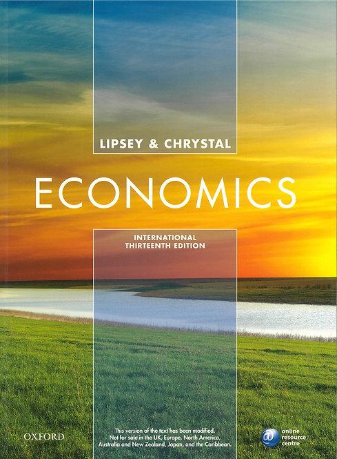Economics 13 Ed - Lipsey Chrystal