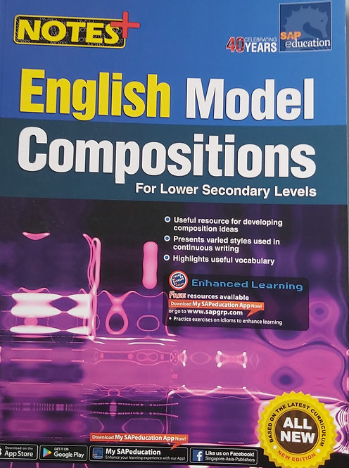 Notes + English Model Compositions For Lower Secondary Lvl