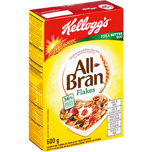 Kellog'S All Bran Flakes 500g