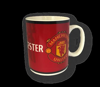 Machester United Foodball Mug
