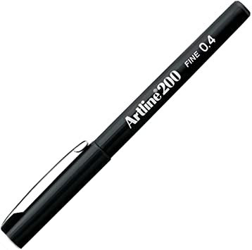 Artline Writing Pen 0.4 200B Black