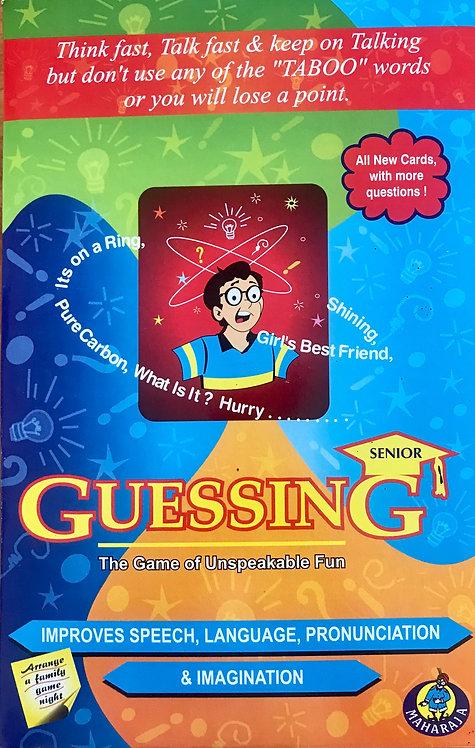 Guessing Senior