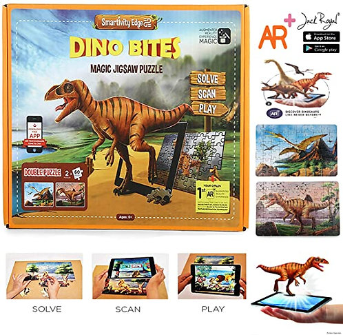 Dino Bites Magic Jigsaw Puzzle