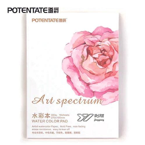 Watercolor Pad A1- 300gm  16 sheets 54x78cm