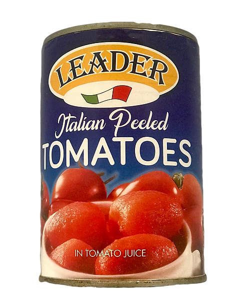 Leader Whole peeled tomatoes (400g)
