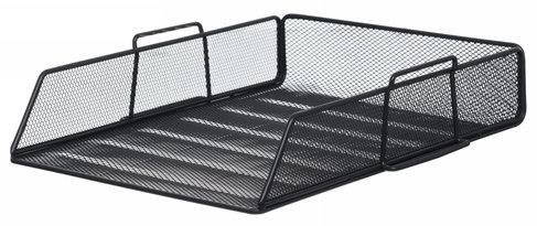 Single Floor Mesh Tray Black