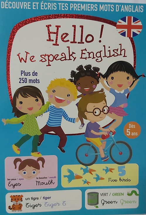 Hello ! We Speak English