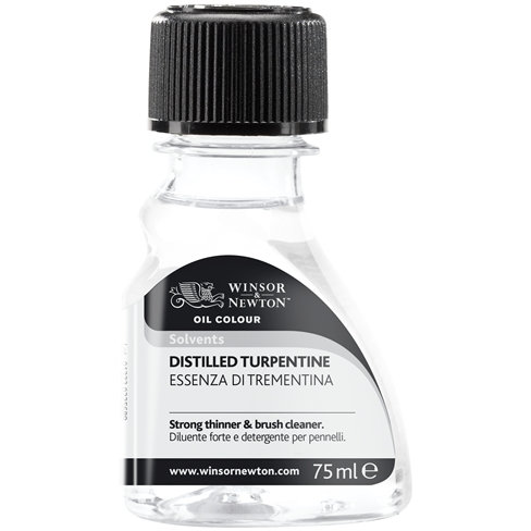 Winsor & Newton DIistilled Turpentine 75ml
