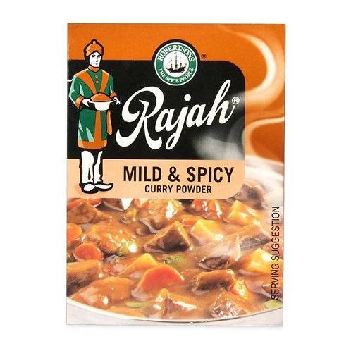 Rajah Curry Powder- Mild & Spicy 100g