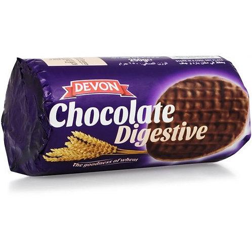 Devon Chocolate Digestive Biscuits 250g