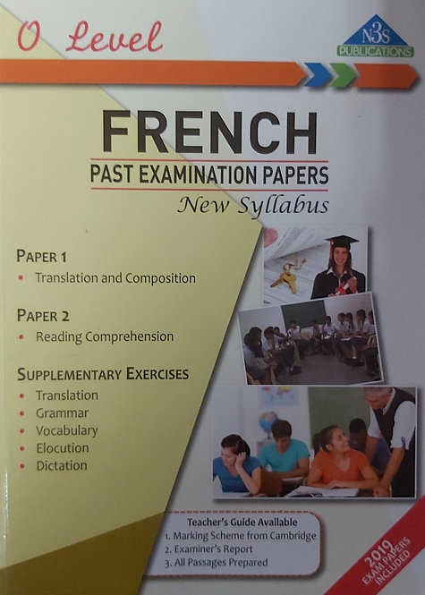 N3S O Level French Past Examination Papers 2019