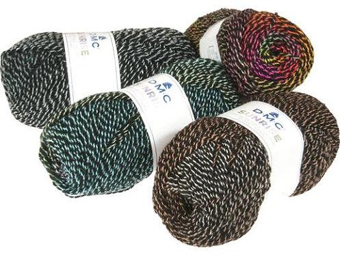 Fil à tricoter SUNRISE  DMC (Available in different colours)