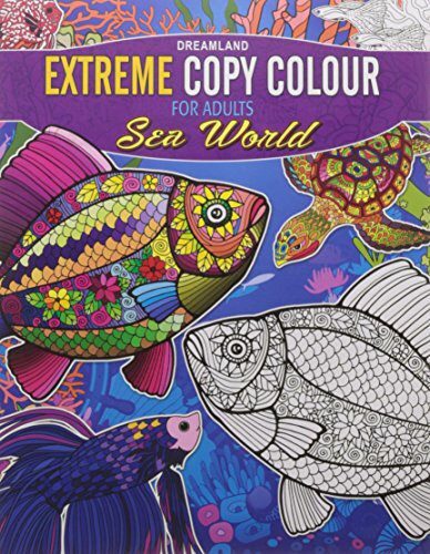 Extreme Copy Colour for adults- Sea World
