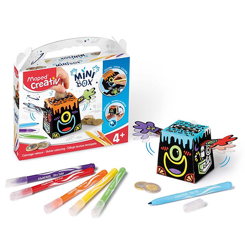 Maped Creativ Mini Box Velvet Colouring
