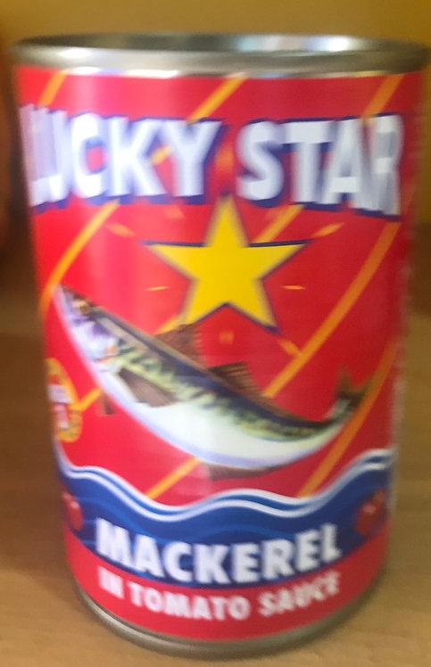 Lucky Star Mackerel In Tomato Sauce 425g