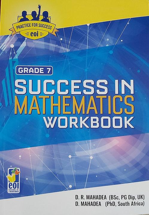 Success In Mathematics Workbook Grade 7