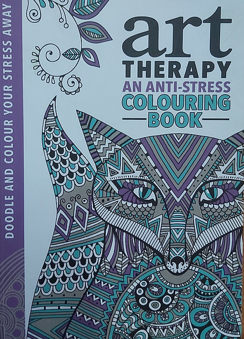 Art  Therapy Anti-Stress Colouring Book