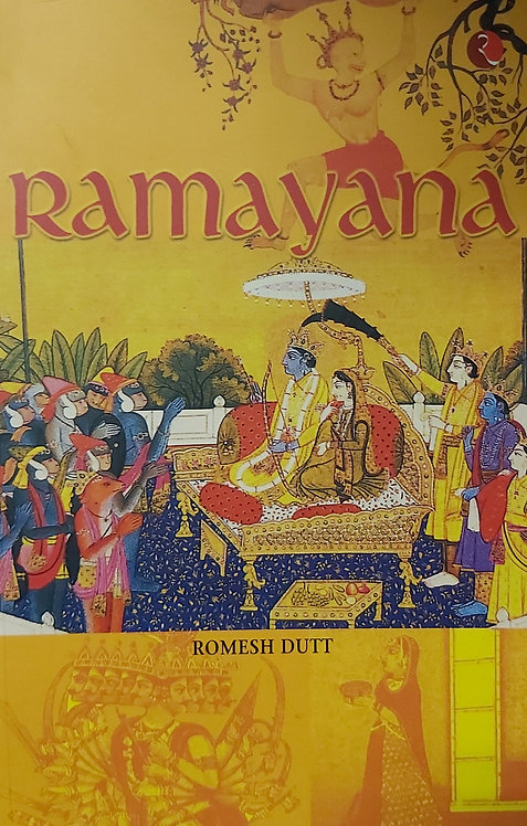 Ramayana by Romesh Dutt (Rupa Publications)