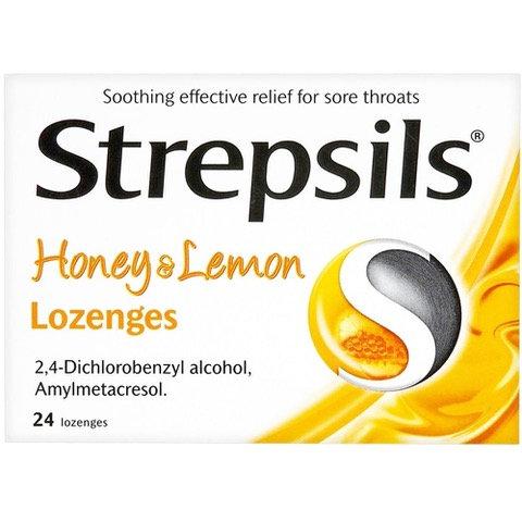 Strepsils honey & lemon 24's