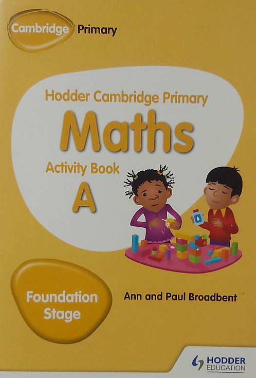 Primary Maths Activity Book A (Foundation Stage)