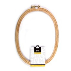Jyoti Embroidery Hoop Oval (size 6,8 and 10)