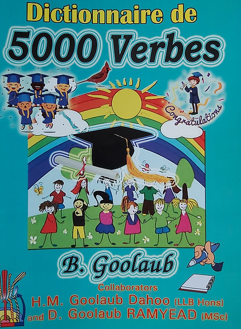 Dictionnaire De 5000 Verbes Francais