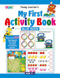 My First Activity Book- Blue Book
