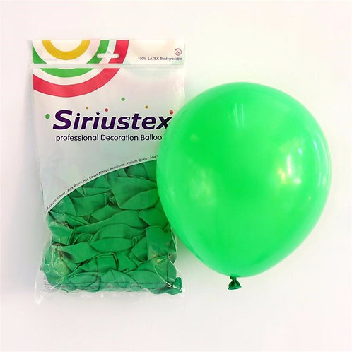 Green Balloons Pack of 25