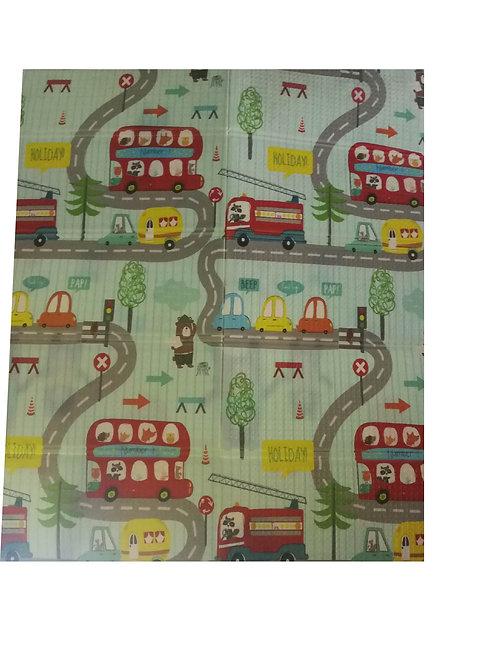 Folding Floor Matt For Kids 140 x 180 cm