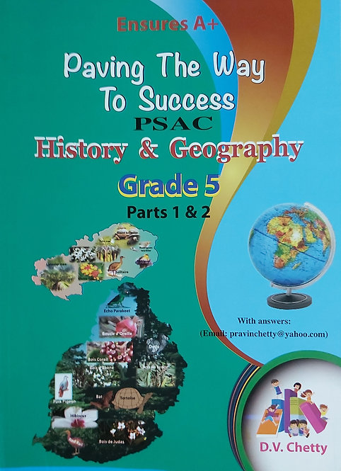 Ensures A+History & Geography Grade 5