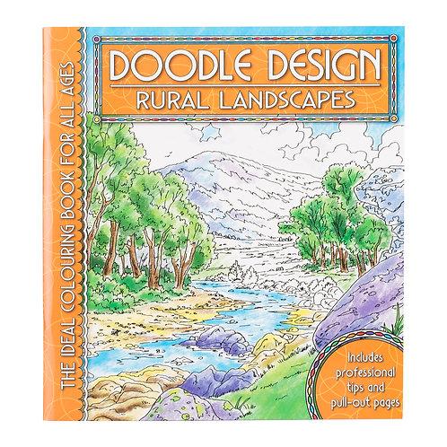Doodle Design Colouring Book