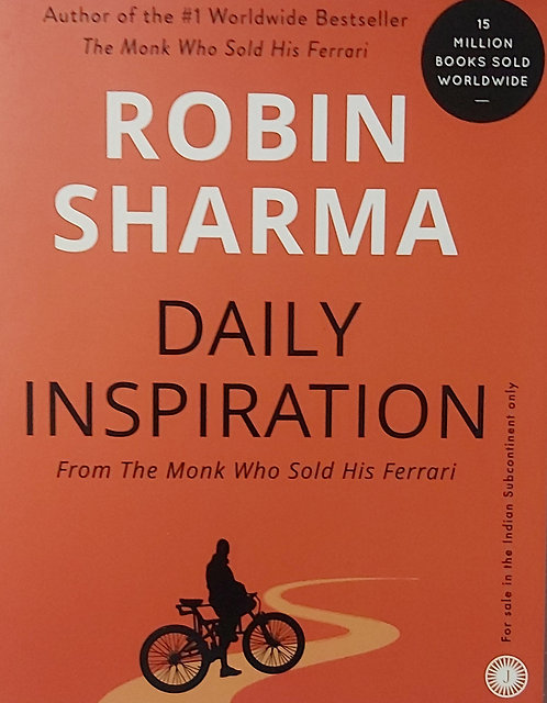 R.Sharma Daily Inspiration